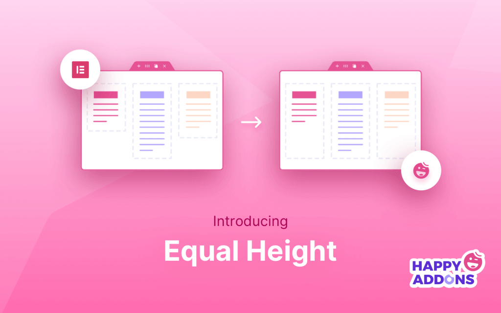 equal height