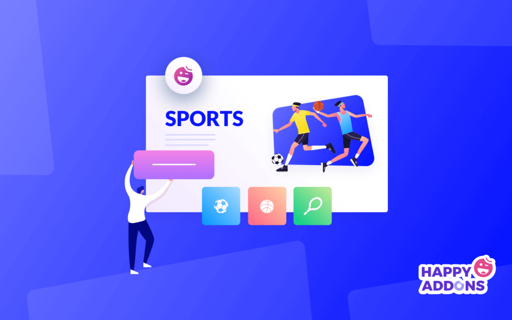 how to build sports website