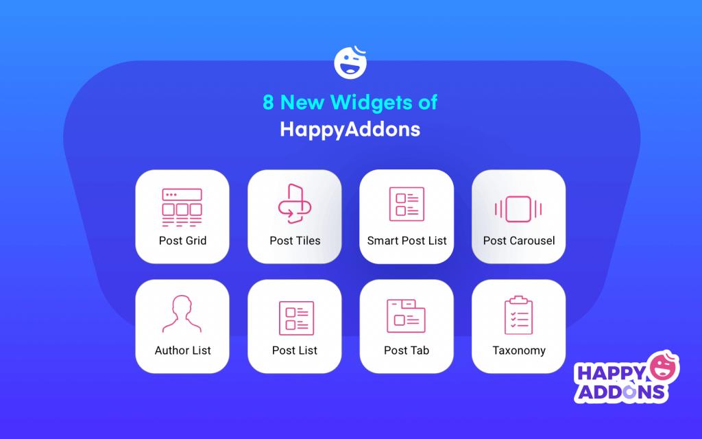 new happyaddons widget